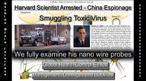China/Harvard Nano Research; Dr. Charles Lieber Arrested