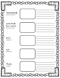 Free Printable Somebody-Wanted-But-So-Then Graphic Organizer ...