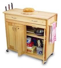 Stand Alone Kitchen Cabinets Kitchen Storage Cabinet Portable Microwave Cart Rolling Kitchen