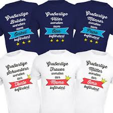 T Shirt Für Oma Opa Papa Mama Shirts Geburt Geschenke Mutter Vater