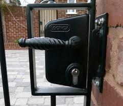 gate locks iron gate lock