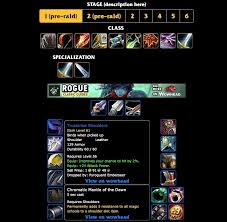 For Honor Gear Chart Season 3 Wow Classic Class Guides And Best In Slot Gear Wowhead News