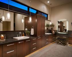 bathroom pendant lighting. contemporary bathroom idea in phoenix with a vessel sink pendant lighting
