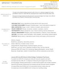 Marketing Manager Resume – Digiart