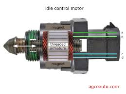agco automotive repair service baton rouge la detailed auto cutaway of gm style idle air control stepper motor