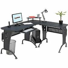 large corner computer desk with