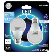 led ceiling fan light bulb soft white ture outside fans retro floor lamps stainless vent hood