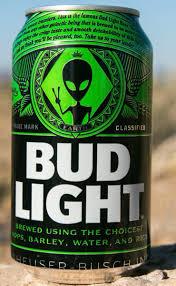 Bud Light Alien