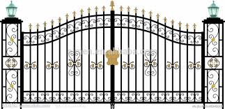 pin gate clipart fancy 5