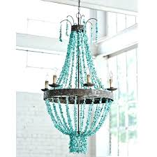 remarkable turquoise beaded chandelier on chandeliers high amp apartment