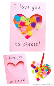From cute and romantic to funny and even rude. Love You To Pieces Suncatcher Card Valentine Crafts For Kids Mothers Day Crafts For Kids Mothers Day Crafts