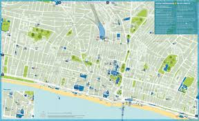 brighton tourist attractions map