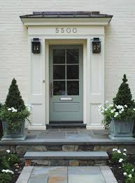 farrow and ball exterior paint inspiration. slate + painted brick lanterns farrow \u0026 ball blue gray #91 door and exterior paint inspiration o
