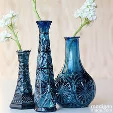 Easy DIY Painted $1 Glass Vase
