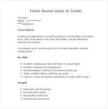 Word Sample Resume Resume Format For Fresher Sample Resume Format ...