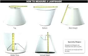 decent how to measure lamp shades lamp shade sizes harp lamp shade lamp shades in shade remarkable how to measure lamp shades