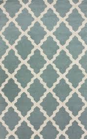 moroccan trellis rug in spa blue blue moroccan tile rug