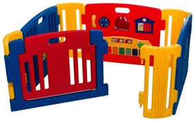 friendly toys little playzone indoor and outdoor playpen for toddlers