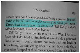 Ponyboy Quotes Magnificent Quote Book The Outsiders Read Frontseatconfessions The Outsiders