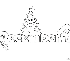 December Coloring Pages Printable Coloring Page Cvdlipids