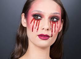 glam gothic halloween makeup