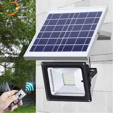 2018 new arrivals 20 leds outdoor waterproof dimmable solar flood light street light for garden