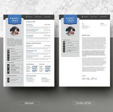 Modern Resume Template Instant Download 2 Pages Cv Template