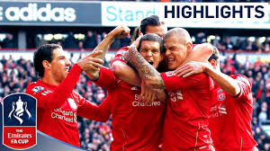 Liverpool 2-1 Man Utd - Official Highlights and Goals | FA Cup 4th Round  Proper 28-01-12 - YouTube