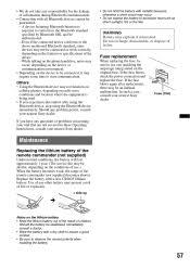 xav 63 bluetooth sony operating instructions