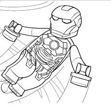 Lego Marvel Superheroes 2 Colouring Pages Super Heroes Coloring