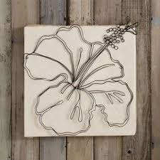 wall art ideas design creative hibiscus wire wall art decorations wooden white square flowers diy decorations botanical floral exciting wire wall art home  on wire wall decor diy with wall art ideas design creative hibiscus wire wall art decorations