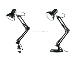 swing arm desk lamp flexible swing arm desk lamp interchangeable base clamp classic architect clip table