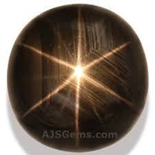 black star sapphire gemstone