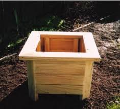 33 best wood planter tree box images on wooden square planter box