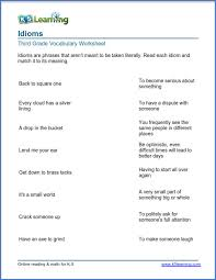 Learn vocabulary, terms and more with flashcards, games and other study tools. Grade 3 Vocabulary Worksheets Printable And Organized By Subject K5 Learning