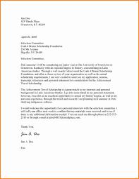6 Letter Applying For Scholarship Ledger Paper