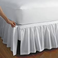 extra long bed skirt.  Extra Detachable Gathered Bed Skirt And Extra Long I