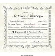 Wedding Certificate Template Awesome Collection Of Free Certified Clipart Marriage Certificate Download