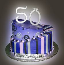 50th Birthday Cake Sweet Somethings Desserts
