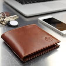 personalised luxury billfold wallet the vittore
