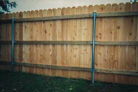 treated wood fence posts for