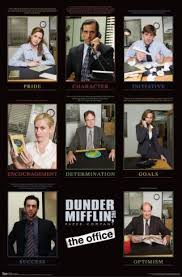 the office posters. the office success grid posters