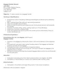 Package Handler Resume Pohlazeniduse