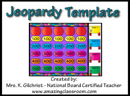 Jeopardy Game Template Jeopardy Game Template Free Gallery - template design free download