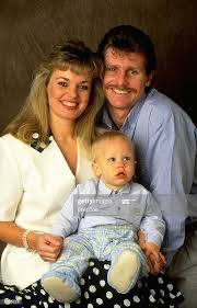 Portrait of Robin Smith of England with his wife Kath and son... News Photo  - Getty Images