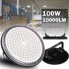 Dust Proof Led Lights 100w Ufo Led High Bay Light Lamp Sararoom 10000lm Ip67