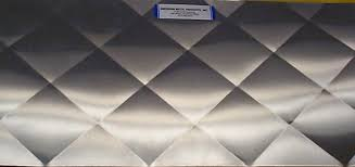 Backsplash / Wall Cladding & Burnished Pattern. Quilted Pattern Adamdwight.com