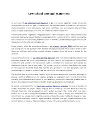 High School Personal Statement Sample Essays An Example Of A