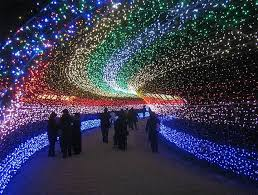 spectacular lighting. Japan\u0027s Spectacular Tunnel Of Lights Lighting N