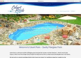 dcp website calvert pools